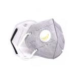 Półmaska ochronna z zaworem i węglem aktywnym FFP2 / KN95